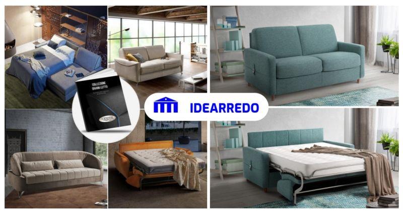 IDEARREDO negozio di mobili - promozione divani letto trasformabili