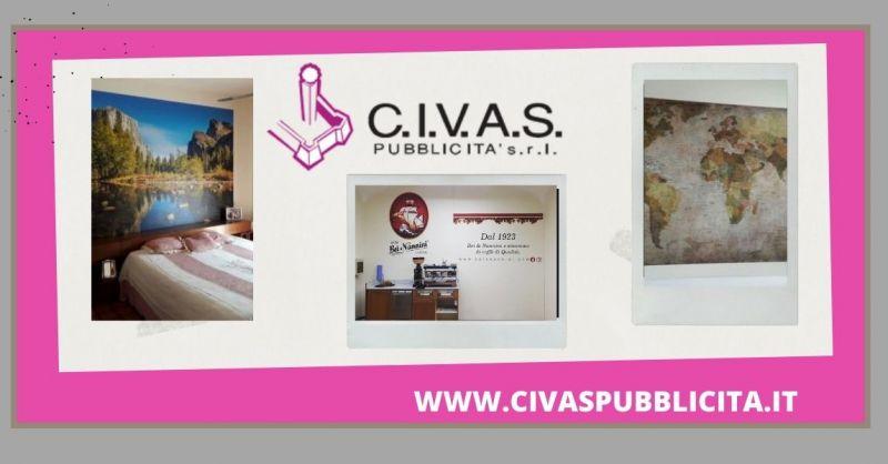 C.I.V.A.S. PUBBLICITA' - promozione affreschi murali per interni