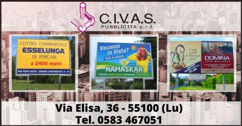 offerta pubblicità stradale in Toscana - promozione cartelli e cartelloni pubblicitari