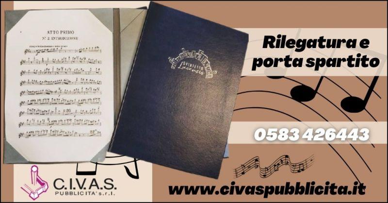 offerta portaspartito musicale e rilegature spartiti musicali Lucca - CIVAS Pubblicita