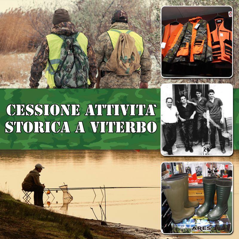 Offerta Cessione Attivita Commerciale Viterbo - Occasione Aprire Negozio Caccia e Pesca Viterbo