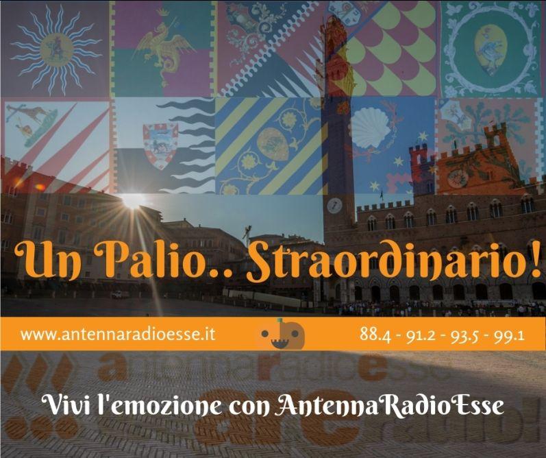 ANTENNA RADIO ESSE - DIRETTA PALIO DI SIENA