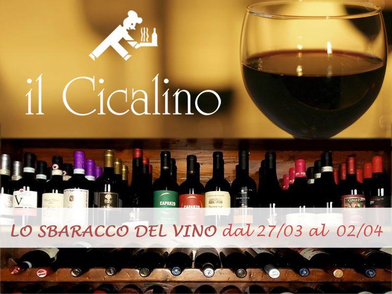 offerta vini pregiati scontati promozione cantina vini scontati il cicalino