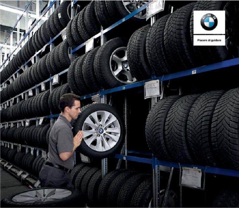 promozione cambio gomme invernali - offerta assistenza  gomme BMW