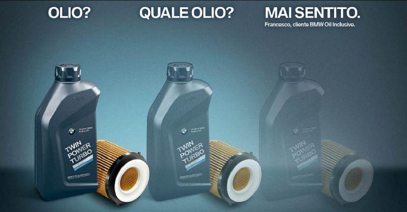 promozione tagliando e cambio olio BMW Siena - occasione officina riparazione BMW
