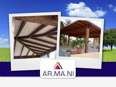 offerta tetti in legno promozione coperture in legno su misura ar ma ni arredamenti
