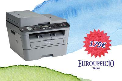 offerta stampante multifunzione promozione stampante brother mfc l2700dw euroufficio