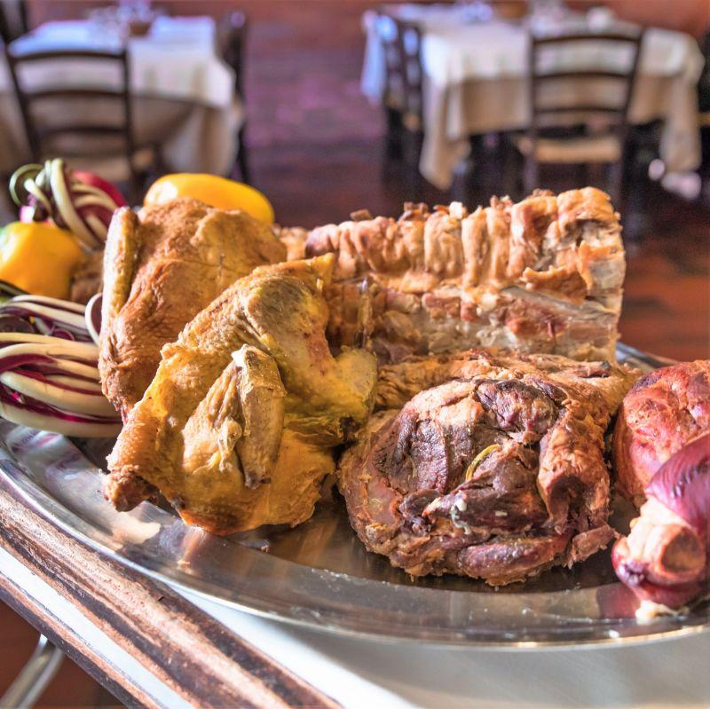 offerta specialità carne alla brace vicenza - occasione mangiare bolliti di carne ed arrosti
