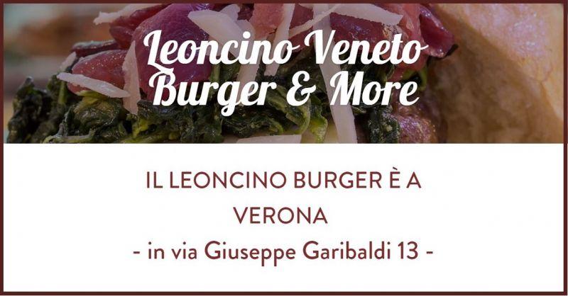 Leoncino Veneto Burger - Occasione SPECIALITA' VENETE TAKE AWAY Verona e Hamburger