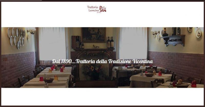 Trattoria Leoncino - Occasione ristorante piatti tipici vicentini gastronomia di alta qualità