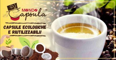 offerta vendita capsule caffe ecologiche compostabili occasione vendita capsule caffe riutilizzabili padova