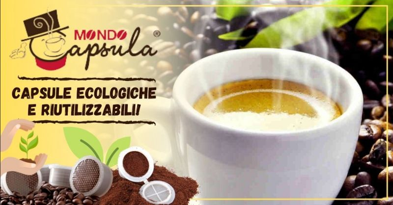 Offerta vendita capsule caffè ecologiche compostabili - Occasione vendita capsule caffè riutilizzabili Padova