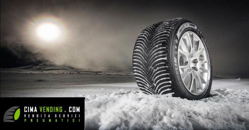 CIMA VENDING offerta fornitura pneumatici invernali - occasione servizi pneumatici a Verona