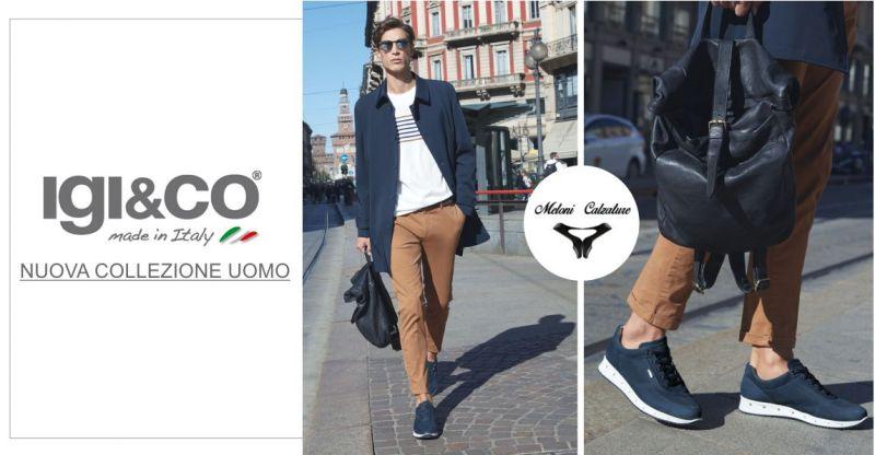 Meloni Calzature  - offerta  calzature uomo IGI&CO nuova collezione 2019