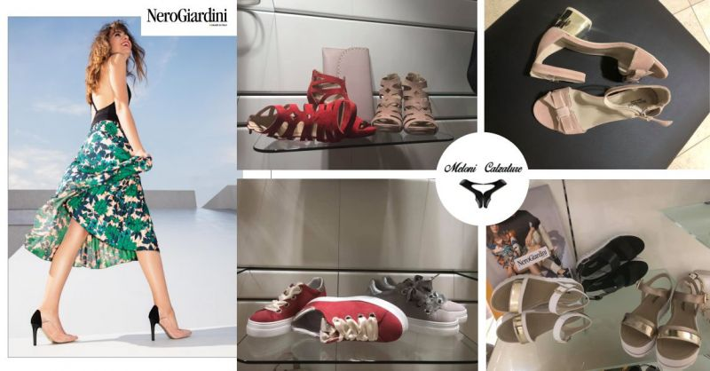 Meloni Calzature  - offerta  nuove calzature donna Nero Giardini primavera estate 2019