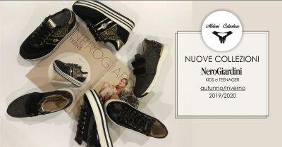 meloni calzature offerta collezione nero giardini autunno inverno bambini e teenager