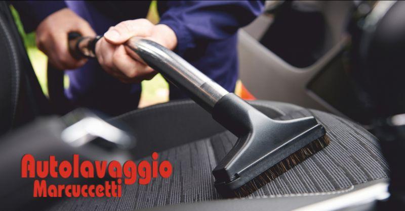autolavaggio marcuccetti offerta lavaggio interni auto - occasione lavaggio tappezzeria massa