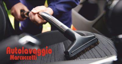 autolavaggio marcuccetti offerta lavaggio interni auto occasione lavaggio tappezzeria massa