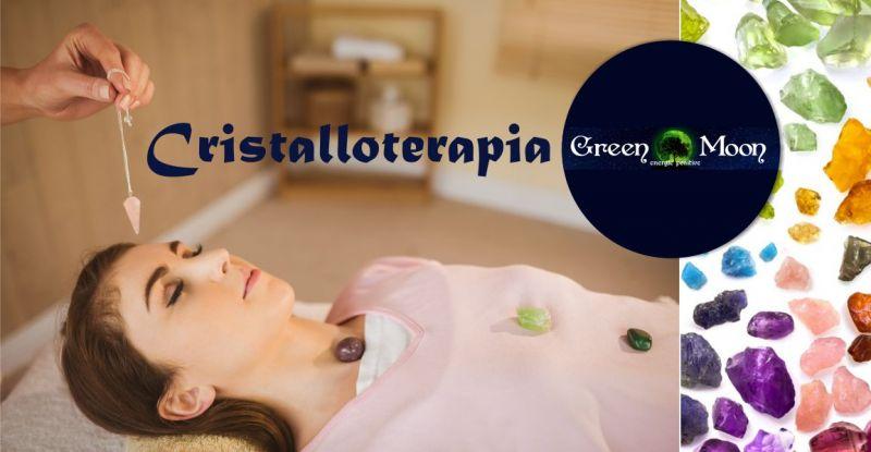 GREEN MOON Energie Positive - offerta seduta di cristalloterapia benessere fisico mentale e spirituale