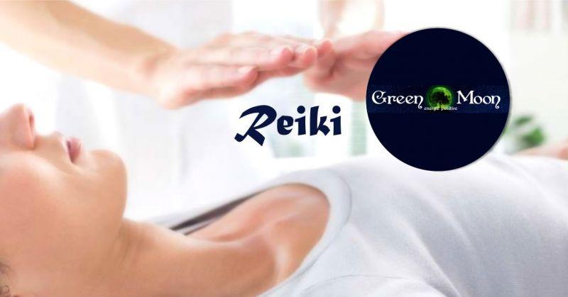 GREEN MOON Energie Positive - offerta seduta di meditazione Reiki  autoguarigione corpo