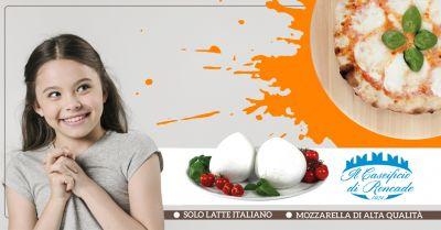 offerta vendita e distribuzione mozzarella fior di latte a treviso il caseificio di roncade