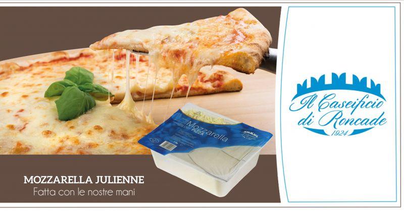 Offerta vendita mozzarella pizza artigianale nel caseificio - Caseificio di Roncade