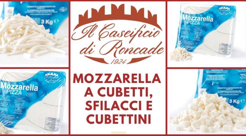 Occasione mozzarella artigianale per ristoranti e pizzerie Treviso – Offerta mozzarella per pizza a cubetti, mozzarella a sfilacci, mozzarella a cubettini Treviso