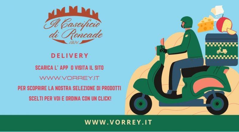 Offerta delivery caseificio di Roncade a Treviso – Occasione Servio ordine on line di formaggio fresco a Treviso