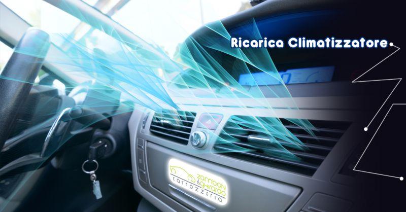 CARROZZERIA ZAMBON & GHIRARDO Offerta servizio ricarica climatizzatore auto Vittorio Veneto