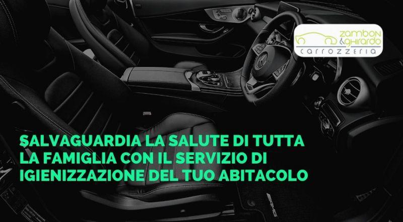 Offerta igienizzazione veicolo a Treviso – Occasione sanificazione della macchina a Treviso