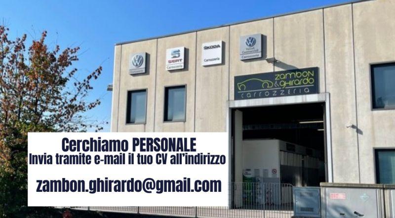 Offerta di lavoro carrozzeria a Treviso – occasione cerco battilamiera per carrozzeria a Treviso