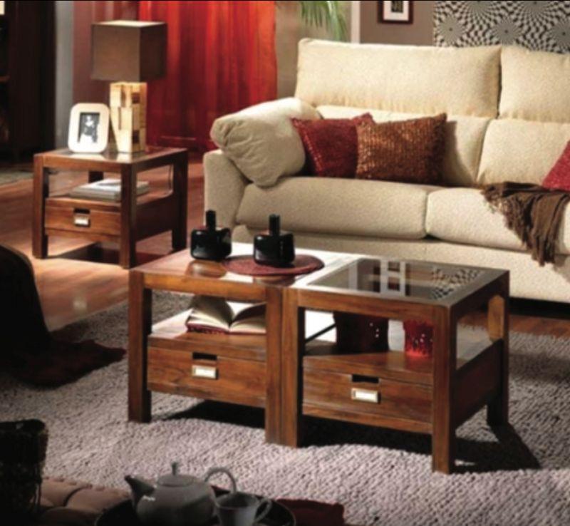 Tavolino Banak in legno sconto 70%
