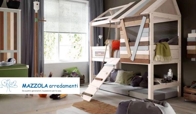 MAZZOLA ARREDAMENTI offerta cameretta treehouse – promozione arredamento outlet