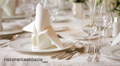 abbazia ristorante pizzeria offerta menu comunioni 2019 promozioni menu cresime 2019