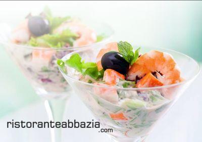 abbazia ristorante pizzeria offerta menu solo carne gruppi promozioni menu solo pesce gruppi