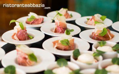 abbazia ristorante pizzeria offerta catering eventi promozione catering ricevimenti
