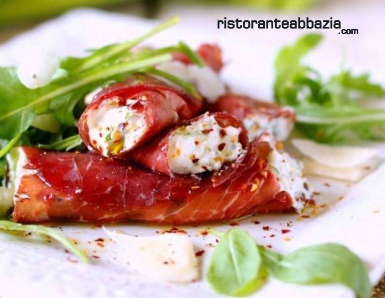 ABBAZIA RISTORANTE PIZZERIA offerta menu degustazione - promozione menu prezzo fisso