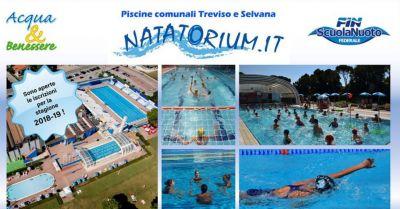 natatorium occasione corsi di nuoto offerta corso acqua fitness acquagym e agonismo treviso