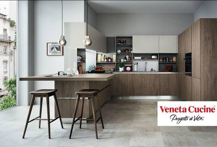 offerta vendita veneta cucine - occasione piano in quarzo per cucine Centro Negri Arredamento