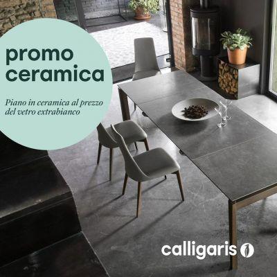 promozione offerta ceramica tavolo calligaris