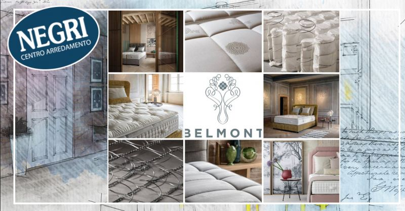 Offerta Belmont sistemi letto Box spring Piacenza - Occasione materasso Ambition Belmont