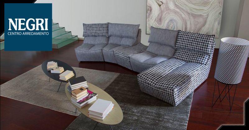 Offerta Vendita Chaise longue Piacenza - Occasione divano modulare su misura Piacenza