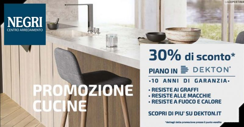 Offerta Cucine Dekton in sconto Piacenza - Occasione Top piano cucina Dekton Piacenza