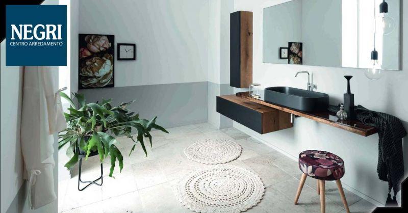 Offerta Mobile da bagno componibile in legno Piacenza - Occasione Idee bagno di stile Piacenza