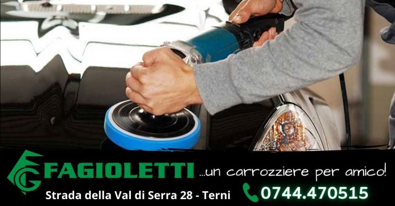 Offerta servizio riparazione verniciatura carrozzeria Terni - Occasione sostituzione cristalli auto Terni