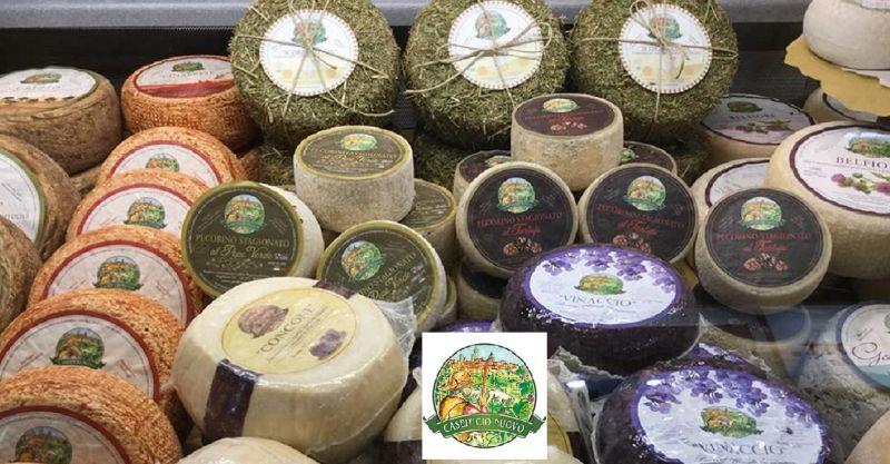 occasione vendita e produzione formaggi freschi italiani - offerta vendita formaggi Poggibonsi