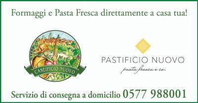offerta consegna a domicilio formaggi e pasta fresca siena e provincia caseificio nuovo