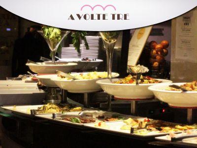 offerta aperitivo cena promozione cena buffet a volte tre