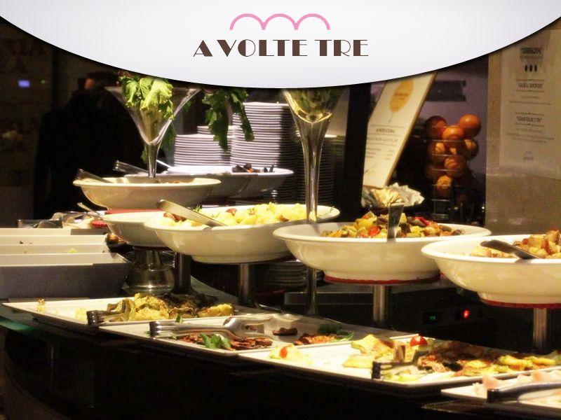 offerta aperitivo cena - promozione cena buffet - a volte tre