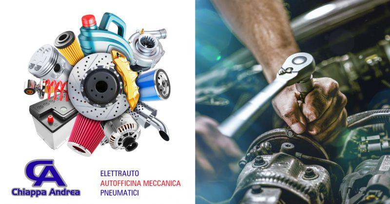 OFFICINA ANDREA CHIAPPA - Offerta Meccanico Officina Autoricambi Falconara Marittima